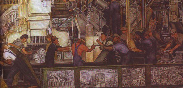 Πίνακας του Diego Rivera